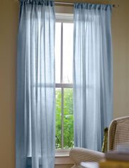 """Sheer Insulated Curtain, 63"""" L x 50"""" W"""