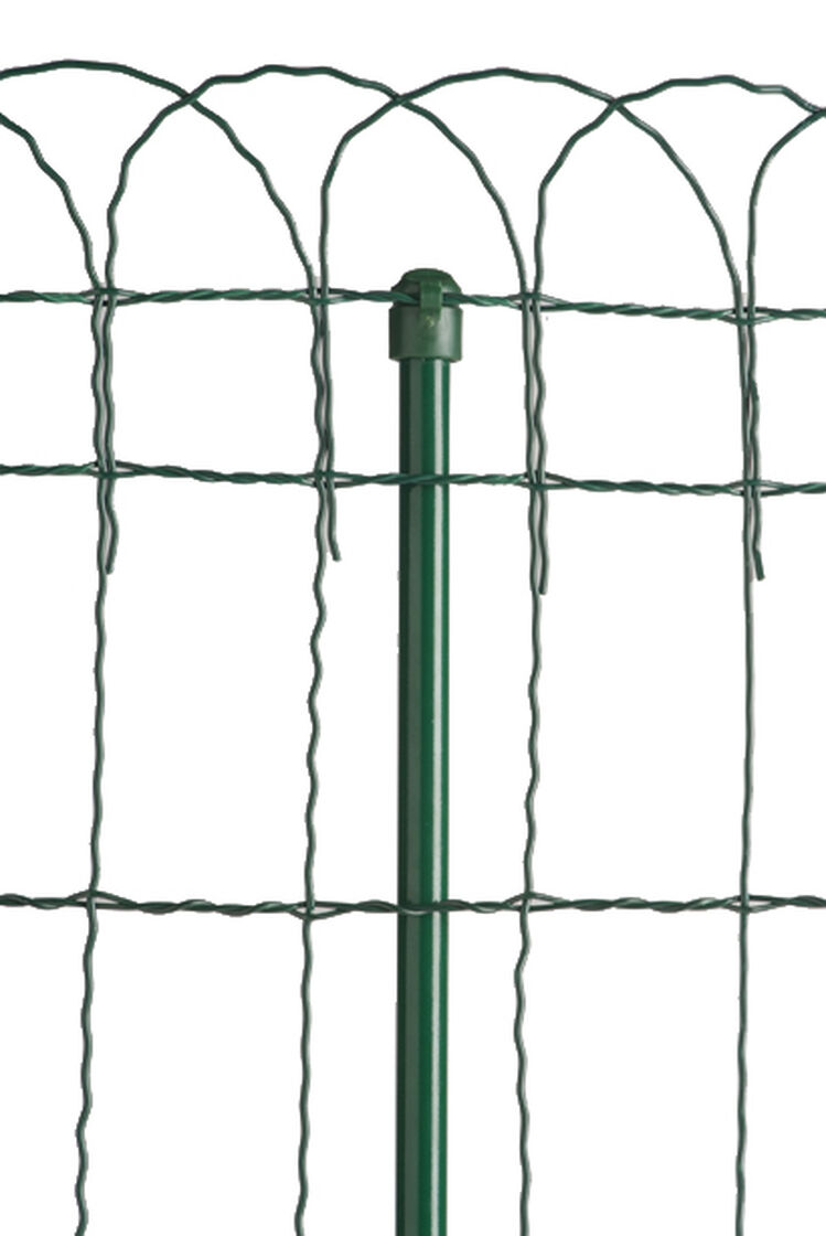Decorative Wire Border Fence In 4 Heights Gardeners Com