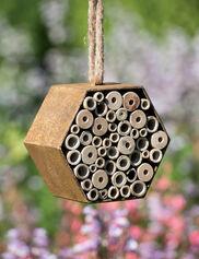 Rustic Mason Bee House