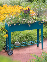 Demeter Mobile Planter Cart