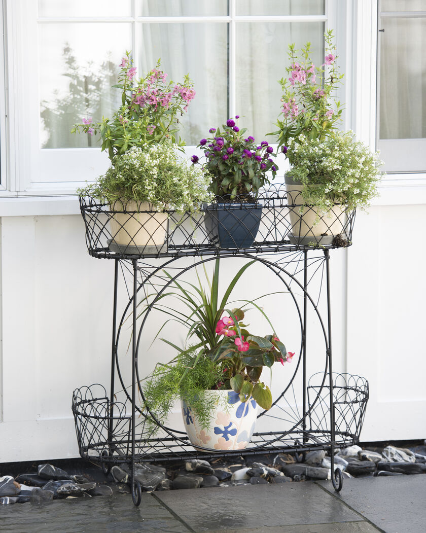 Tiered Plant Stand Wirework Plant Stand Victorian