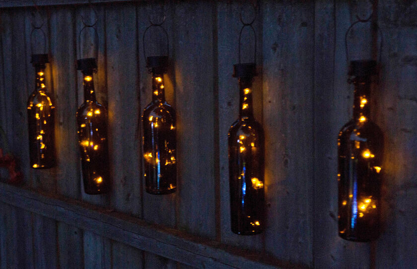 Solar Lantern Solar Bottle Lantern Kit Wine Bottle Lights