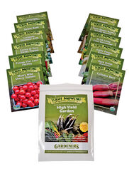 High Yield Vegetable Garden Organic Seeds, Set of 12