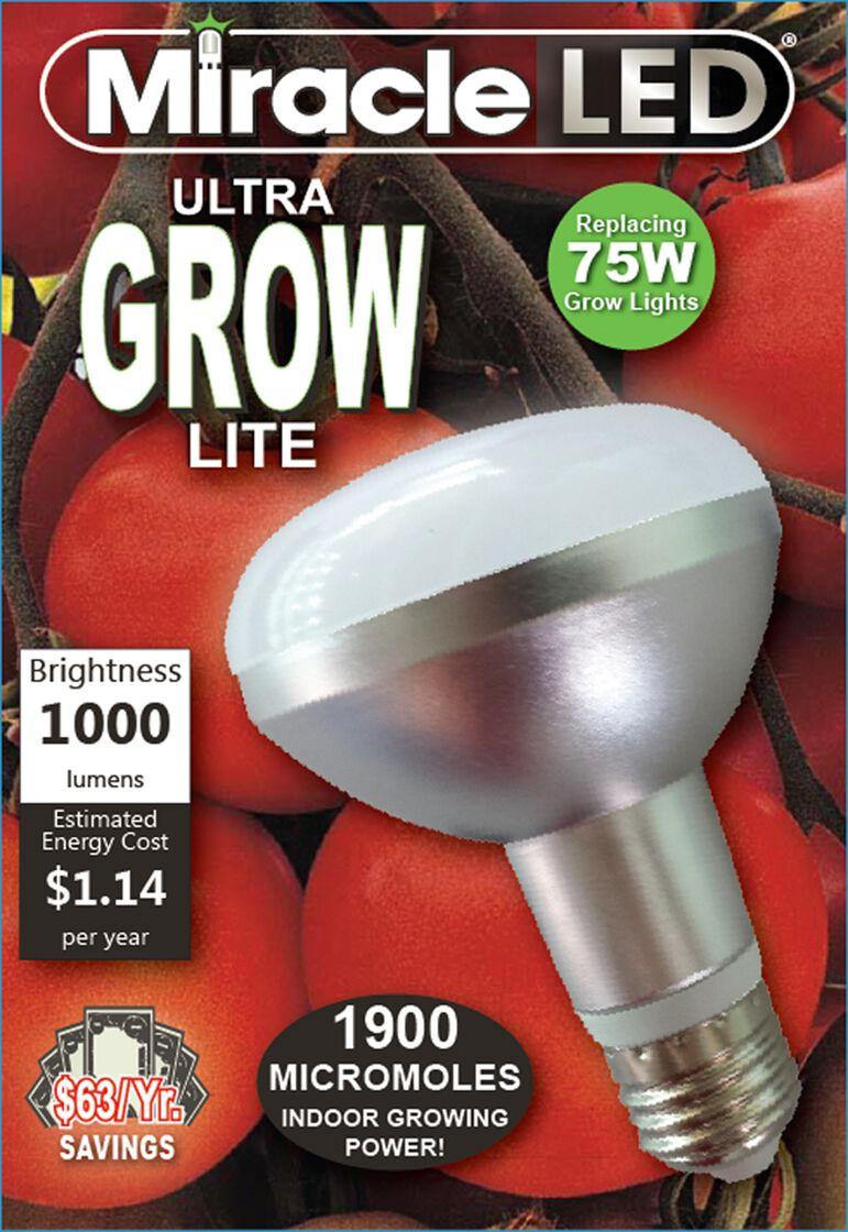 Led Grow Light Bulb Miracle Led 174 Ultra Grow Light Bulb