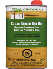 Cedar Garden Bed Oil