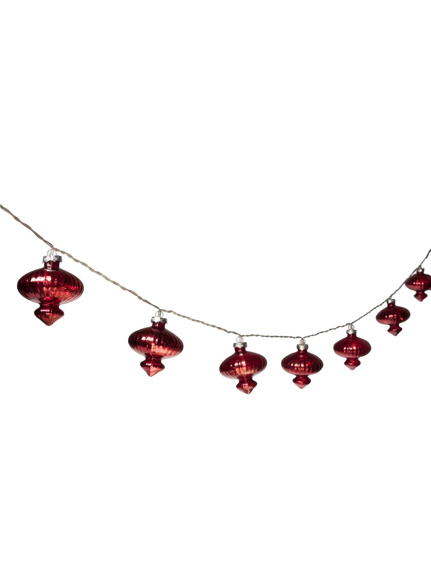 Onion LED String Lights - Battery Operated in Vintage Style