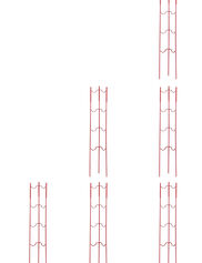 Stacking Tomato Ladders, Set of 6