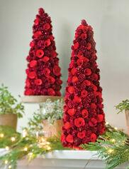Red Wood Cones