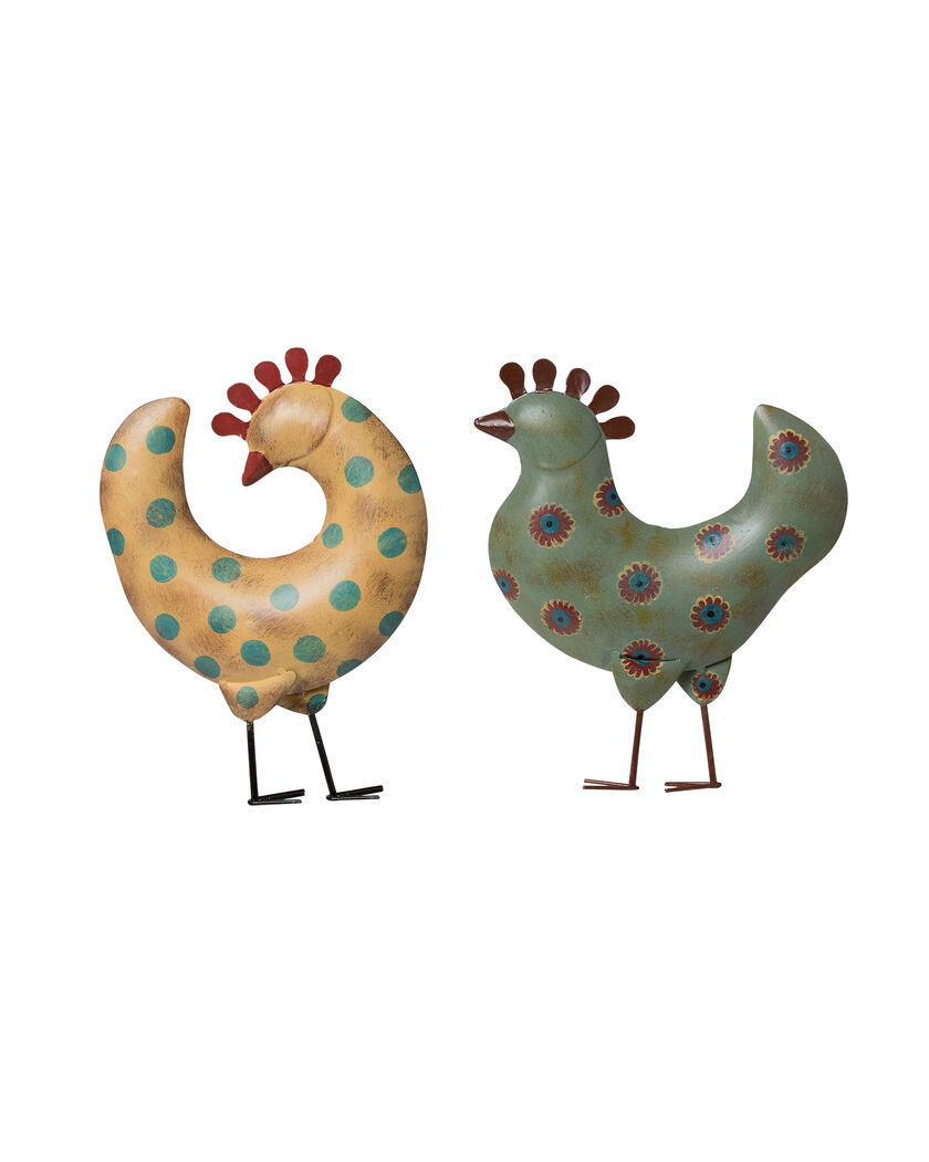 Funky garden chickens garden art gardener 39 s supply for Funky garden accessories