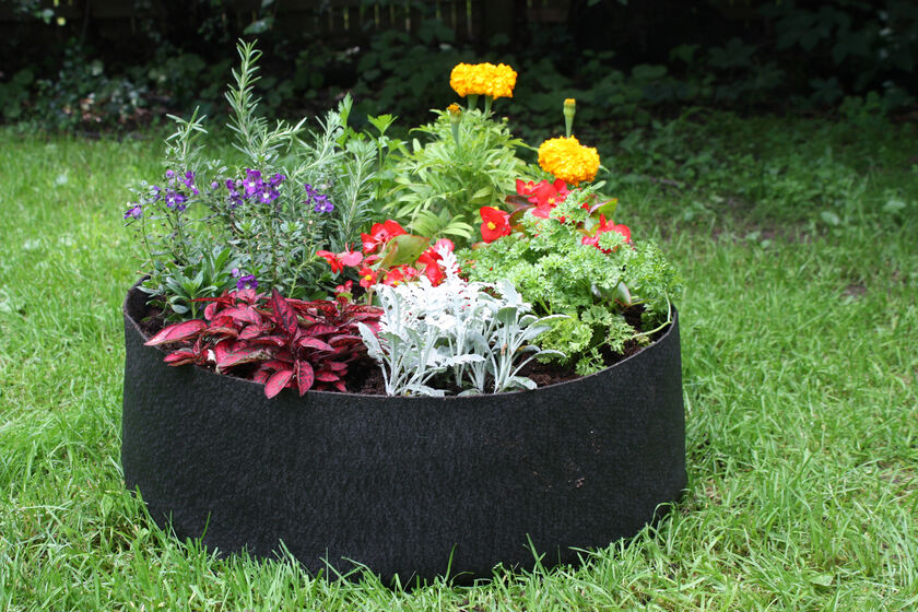 Big Bag Bed Raised Garden Bed In A Fabric Grow Bag