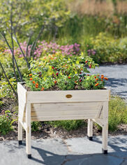 Compact VegTrug™ Patio Garden, Whitewash