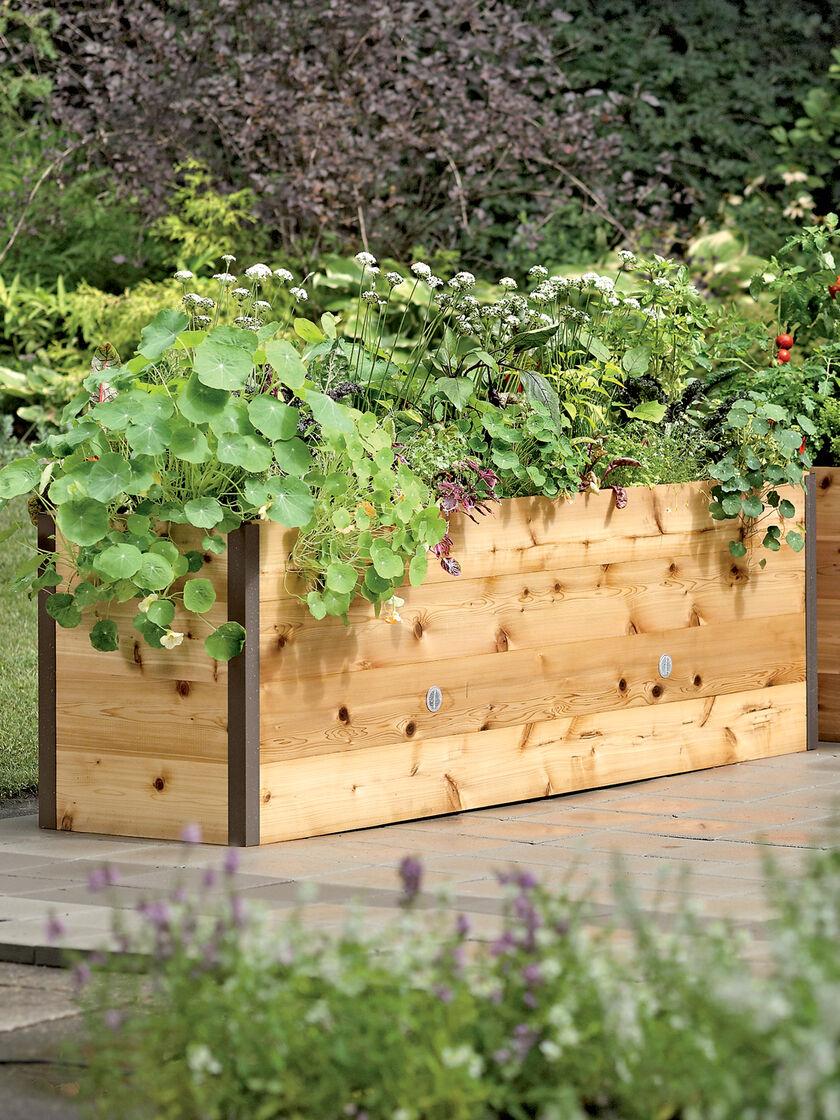 Vermont Raised Cedar Garden Bed