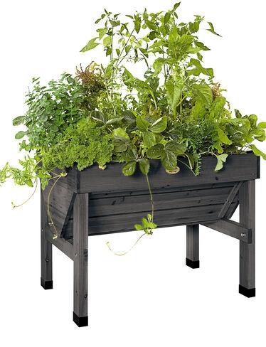 how to make a compact vegetable garden