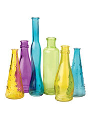 Pastel Bottles, Set of 6