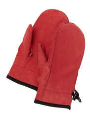 Women's Insulated Suede Mittens