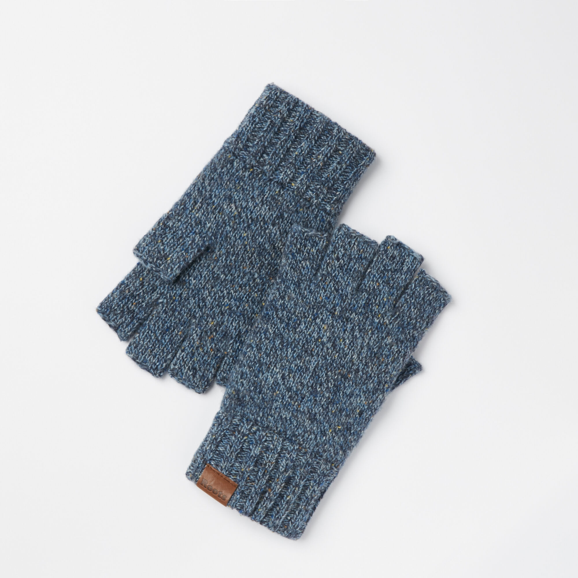 Fingerless gloves canada - Mens Donegal Fingerless Glove
