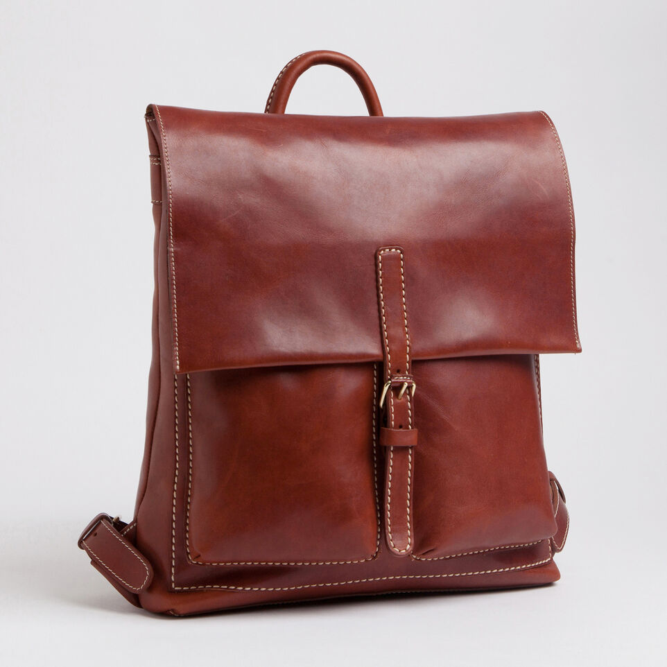 Backpack Men S Leather Raiders Pack Horween Roots