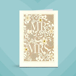 Find just the right wedding card.