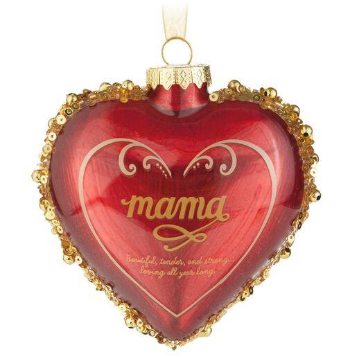 Heart Christmas Tree Ornaments Mama Heart Christmas Tree
