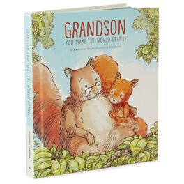 Grandson You Make the World Grand! Recordable Storybook, , large