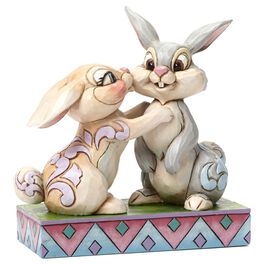 Twitterpation—Thumper and Miss Bunny Figurine, , large