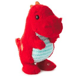 Love-a-Saurus Interactive Stuffed Dinosaur, , large