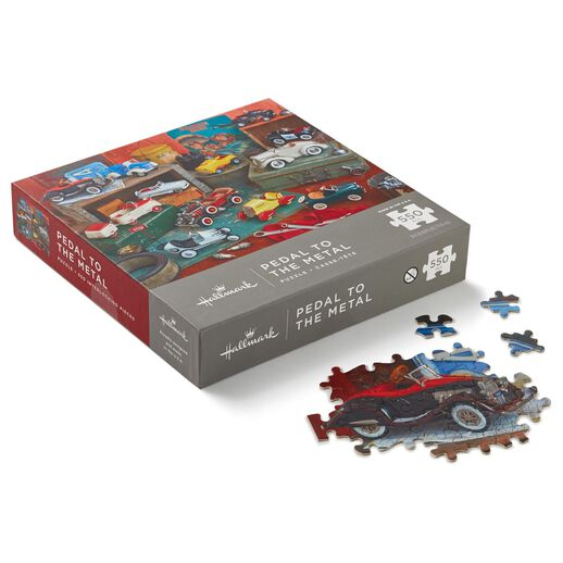 Pedal to the Metal Kiddie Cars 550-Piece Jigsaw Puzzle