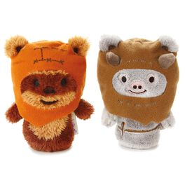 itty bittys® Star Wars Ewok™ Buddies Set With Wicket™ and Chief Chirpa™ Stuffed Animals, , large