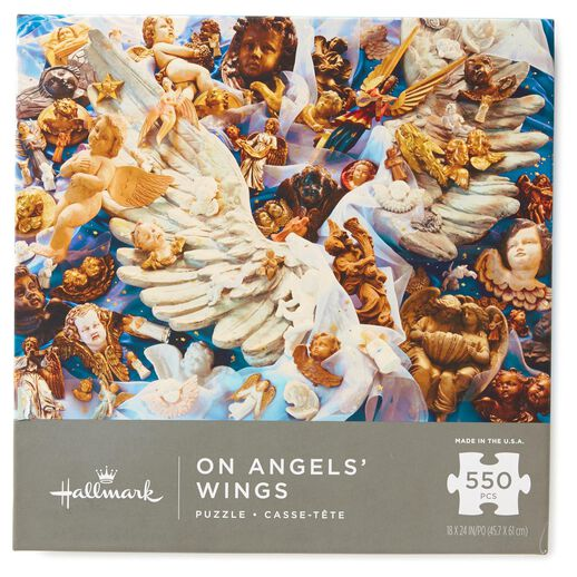 On Angels' Wings 550-Piece Jigsaw Puzzle