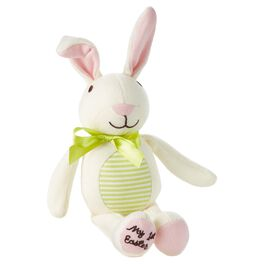 Baby's First Easter Bunny Stuffed Animal, , large