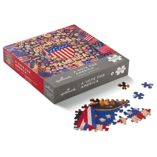 A Vote for America Patriotic 1000-Piece Jigsaw Puzzle