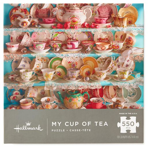 My Cup of Tea 550-Piece Jigsaw Puzzle