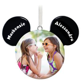 Mickey Mouse Silhouette Personalized Ornament, , large