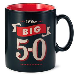 The Big 5-0 Coffee Mug, , large