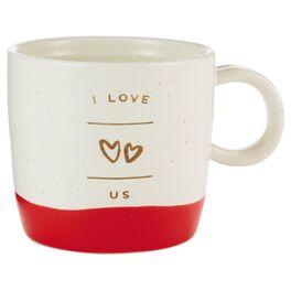 I Love Us Heart Mug, , large