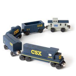 CSX Diesel Wooden 5-Car Set, , large