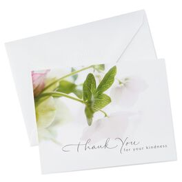 White Floral Stationery, , large