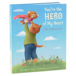 You're the Hero of My Heart: For a Special Girl Recordable Storybook, , large
