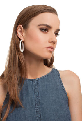 PALM SPRINGS HOOP EARRING