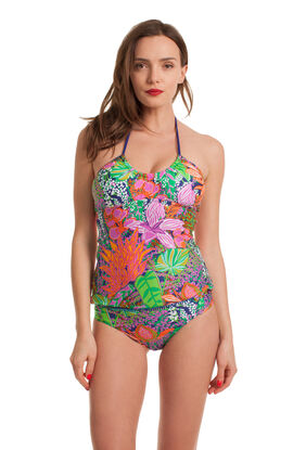 Tropic Escape Tankini Set