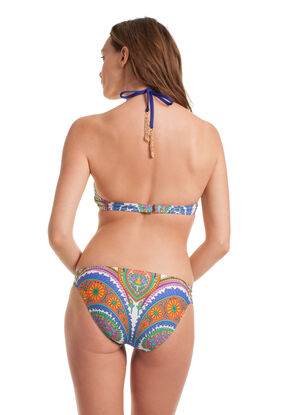 Pacific Paisley High Neck Bikini Set
