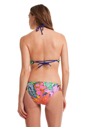 Tropic Escape High Neck Bikini Set