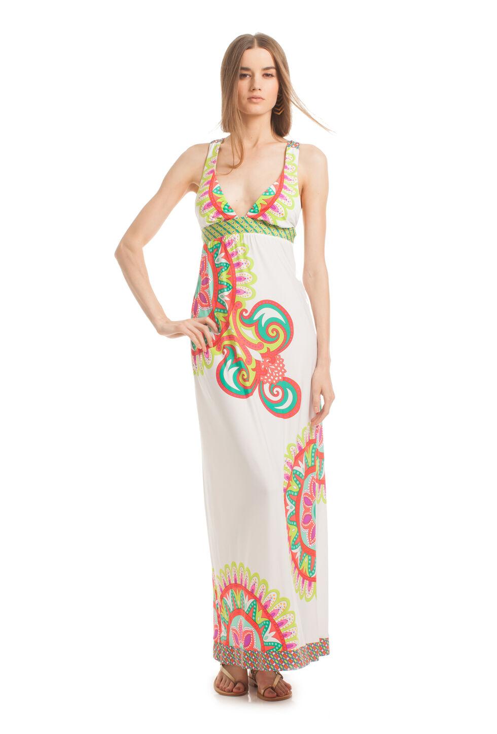 Carnaval Covers Long Dress