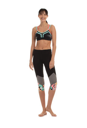 POP CAMO CAPRI LEGGING