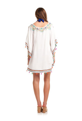 PAISLEY EMBROIDERY CAFTAN
