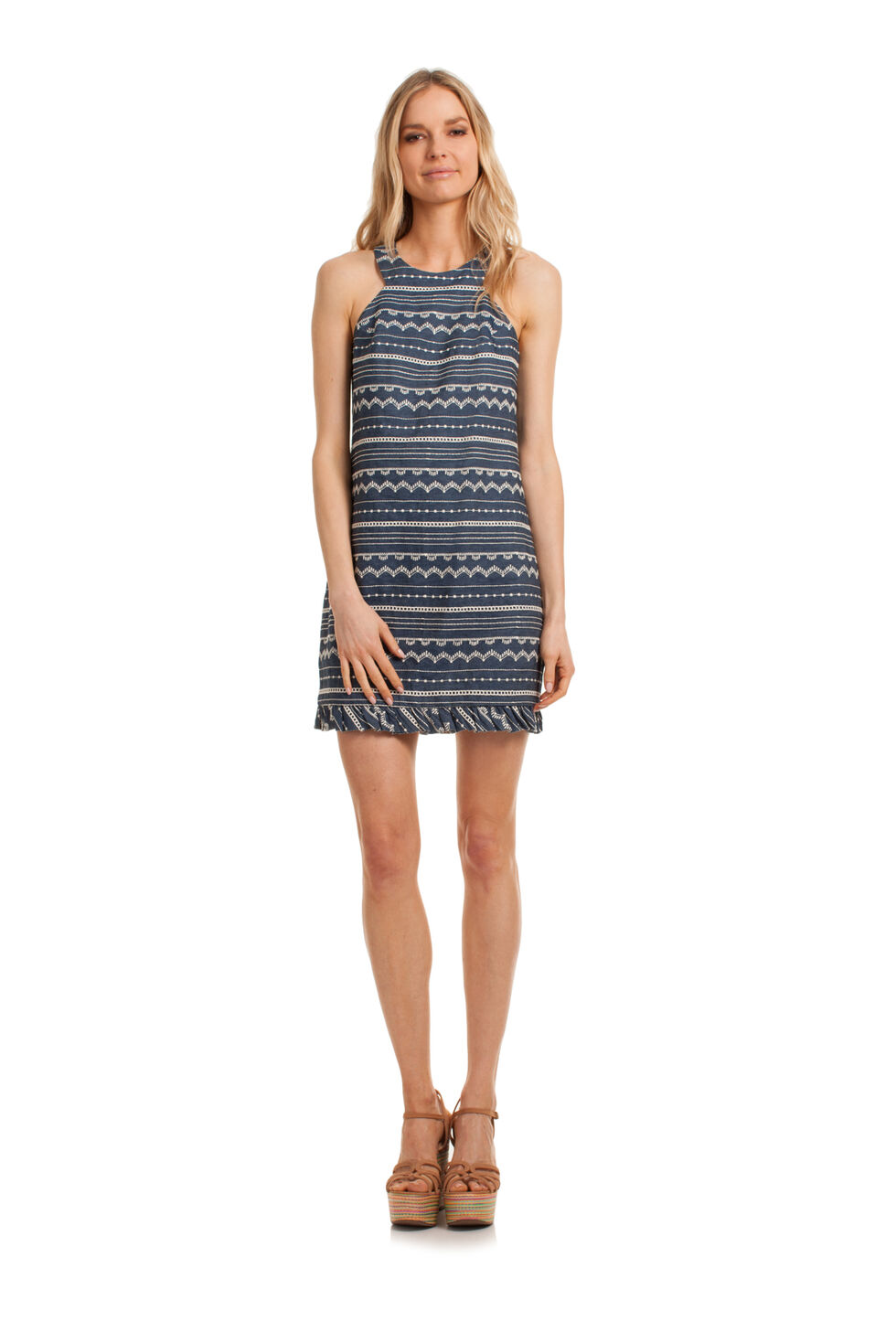 Trina Turk Springs Dress - Blue - Size Fit Guide