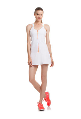 COLOR BLOCKED TENNIS DRESS
