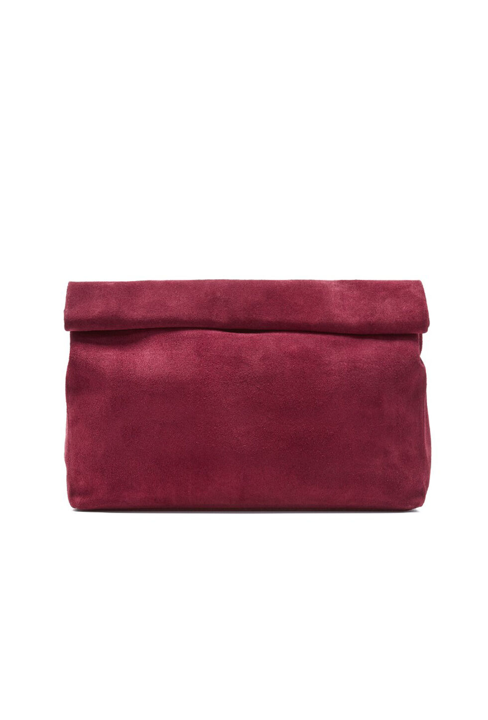 Trina Turk The Lunch Clutch - Burgundy - Size Fit Guide
