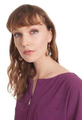 HOLLYWOOD HILLS DROP earrings