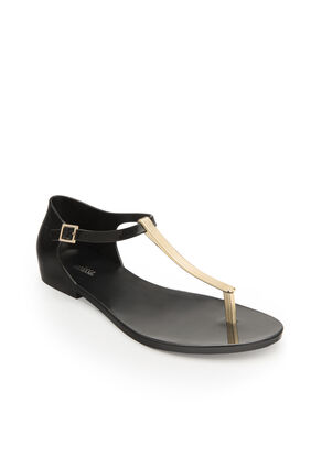 HONEY CHROME SANDAL